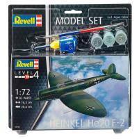 Сборная модель Revell Самолет Бомбардировщик-разведчик Heinkel He70 F-2 1:72 (63962)