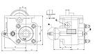 Коробка відбору потужності Aber на EATON і FULLER TF7008M, фото 3