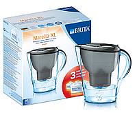 Фильтр-кувшин BRITA Marella XL graphite (Calendar) + 3 Maxtra