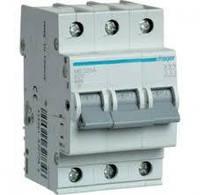 Автоматичний вимикач In=10 А, 3п, С, 6 kA, 3м