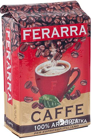 "Кофе ""Ferarra Caffe 100% Arabica"" 250 г (молотый)"