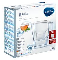 Фильтр для воды BRITA Aluna Cool white + 3 BRITA Maxtra