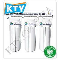 Фильтр для очистки воды Bio+ systems SL303 (три степени очистки, c краником на мойку)