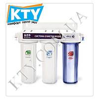 Фильтр для очистки воды Raifil TRIO PU905W3-WF14-EZ (3 степени очистки)