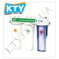 Фильтр для очистки воды Raifil TRIO-R PU905S3-WF14-EZ (3 степени очистки, ионообменная смола)
