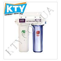 Фильтр для очистки воды Raifil DUO PU905W2-WF14-EZ (2 степени очистки)