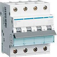 Автоматичний вимикач In=50 А, 4п, С, 6 kA, 4м