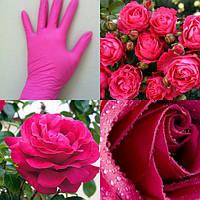 Перчатки нитриловые розовые Fiomex Pink Begreat - 100 шт/уп,premium