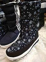 Недорогая зимняя женская обувь на платформе