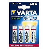4шт аккумулятор мизинчик Varta AAA 1000 professional
