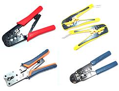 12-02-000. Инструмент обжимной для RJ11, RJ12, RJ45