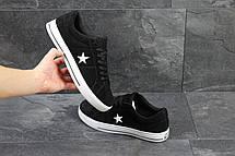 Мужские кеды,кроссовки Converse All Star черно-белые, фото 3