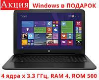 Ноутбук HP 15-ba018ur (P3T24EA)
