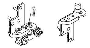 Складная система ходовой комплект