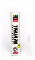 Герметик силиконовый нейтральный, 310 мл, BELIFE