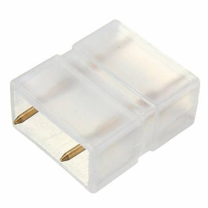 Соединитель для светодиодной ленты 2835 220V SL 2pin  Код.57561, фото 2