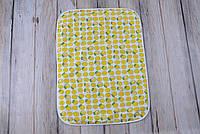 Непромокаемая пеленка (размер 60*80) лимончики