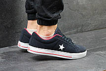 Мужские кеды,кроссовки Converse All Star темно синие 45р, фото 2