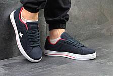 Мужские кеды,кроссовки Converse All Star темно синие 45р, фото 3