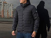 """Мужская зимняя куртка Pobedov Winter Jacket """" Rise """" Black"""