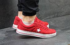 Мужские кеды,кроссовки Converse All Star красные, фото 3