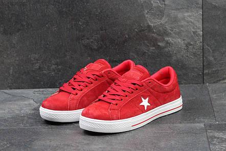 Мужские кеды,кроссовки Converse All Star красные, фото 2