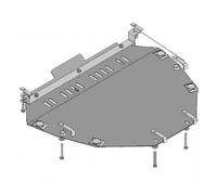 Защита двигателя Honda CR-V (07-12) металлическая