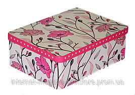 Шкатулка для швейных принадлежностей металлическая 80*180*240