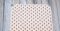 Непромокаемая пеленка (размер 60*80) Бантики