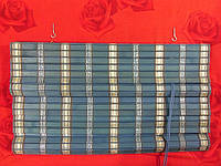 90х160 см. BRM 272, жалюзи бамбук, римские шторы.