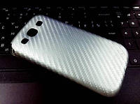 """Силиконовый чехол """"Карбон"""" для Samsung S3"""