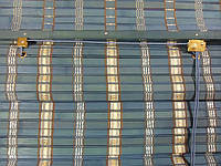 100х160 см. BRM 272, жалюзи бамбук, римские шторы.