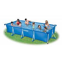 Каркасный бассейн 300 х 200 х 75 см Intex 28272. Прекрасная замена естественному водоему. Доступно Код: КГ2838
