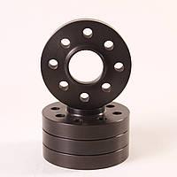 Алюминиевые колесные проставки  4х108,  Dia = 65.1, 25мм. ( Citroen, Peugeot)