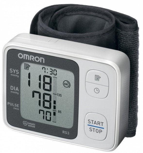 Автоматичний тонометр на зап'ястя Omron RS3