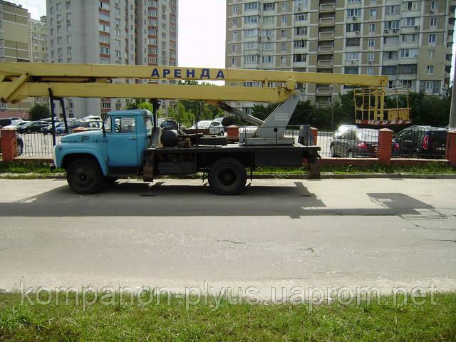 Аренда автовышки 22 метра, услуги автовышки 22 метра