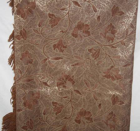 Покрывало гобеленовое Глория песочный на полутороспальную кровать, фото 2