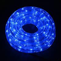 Светодиодный шланг синий Pope light 10B 10 метров, шланг дюралайт