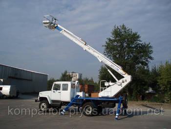 Автовышки с телескопической стрелой (АПТ)