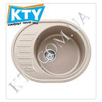 Мойка круглая Franke Ronda ROG 611-62 (620x500x205) Цвет: Шоколад;