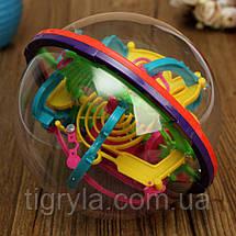 Шар головоломка лабиринт 3Д Шар, прозрачный шар головоломка, фото 2
