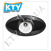 Мойка круглая Тека I-Sink 95 DX (врезная, polish, 950 x 520)