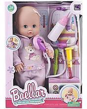 Лялька-пупс Baellar та аксесуари доктора