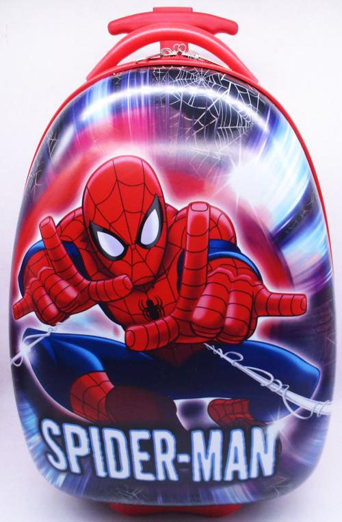 """Дитячий пластиковий чемодан """"Людина павук"""""""