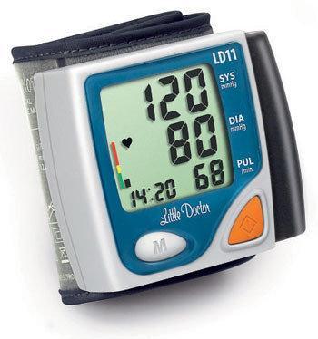 Автоматичний тонометр на зап'ястя Little Doctor LD11 без упаковки у футлярі з гарантією
