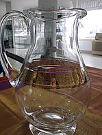 Кувшин для напитков BOHEMIA с декором 2000мл