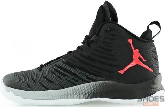 Мужские кроссовки Nike Air Jordan Super Fly Black, Найк Аир Джордан