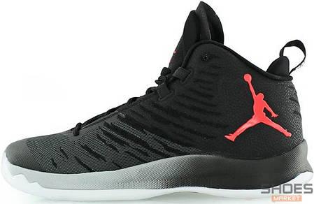 Мужские кроссовки Nike Air Jordan Super Fly Black, Найк Аир Джордан, фото 2