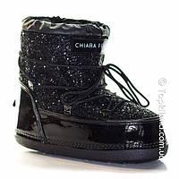 Moon Boots (луноходы)Chiara Ferraghi черные, фото 1