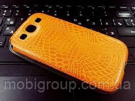 """Силиконовый чехол """"Крокодил"""" для Samsung S3"""